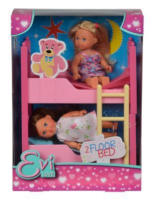 Игровой набор Evi С кроваткой 5733847 набор кукол simba еви 2 шт с кроваткой 5733847