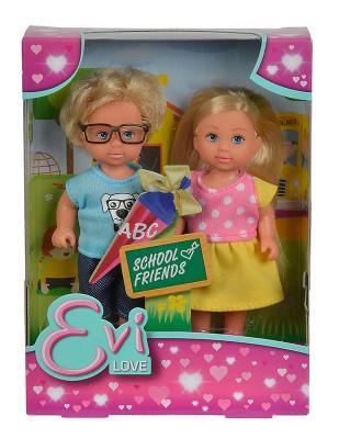 Купить Набор кукол Evi С Тимми 5737113, ПВХ, текстиль, пластик, Классические куклы и пупсы
