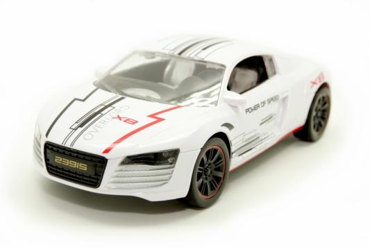 Автомобиль Balbi Спорткар 1:16 белый от 5 лет пластик, металл RCS-1601 WA автомобиль balbi автомобиль черный от 5 лет пластик металл rcs 2401 a
