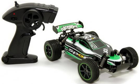 Машинка на радиоуправлении Balbi RCS-5201-G Багги от 6 лет черно-зеленый автомобиль balbi автомобиль черный от 5 лет пластик металл rcs 2401 a