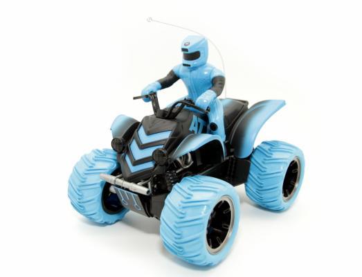 Купить Квадрокоптер на радиоуправлении Balbi Квадроцикл синий от 5 лет пластик, металл MTR-001-B, Радиоуправляемые игрушки