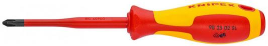 Отвертка прямая Knipex KN-982502SLS отвертка knipex kn 982055 1000v сталь хром ванадиевая