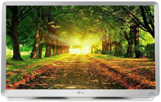 "Телевизор LED LG 27"" 27TK600V-WZ серый/FULL HD/50Hz/DVB-T2/DVB-C/DVB-S2/USB/WiFi/Smart TV (RUS) цена и фото"