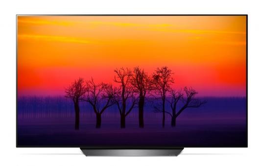 Плазменный телевизор LG OLED55B8 серебристый плазменный телевизор lg 55se3b b