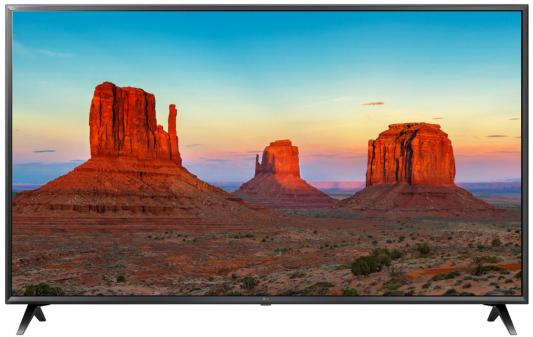 Телевизор LED LG 65 65UK6300 черный/коричневый/Ultra HD/100Hz/DVB-T2/DVB-C/DVB-S2/USB/WiFi/Smart TV (RUS)