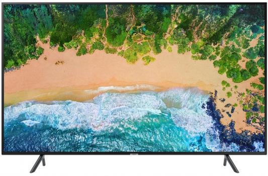 Телевизор Samsung UE65NU7100UXRU черный цена и фото