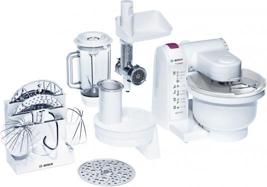 Кухонный комбайн Bosch ProfiMixx MUM4657 550Вт белый цена и фото