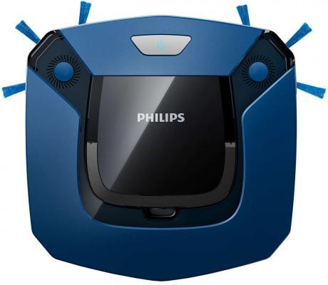 Робот-пылесос Philips SmartPro Easy FC8792/01 сухая уборка синий чёрный