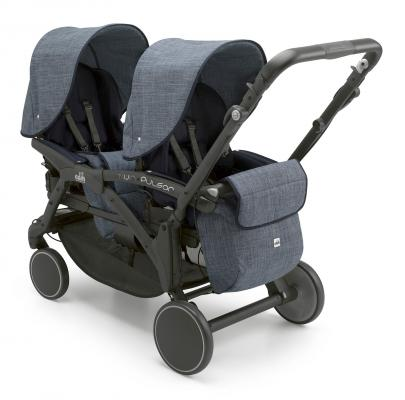Прогулочная коляска для двойни Cam Twin Pulsar (цвет 625) cam коляска 3 в 1 dinamico elite up cam бежевый