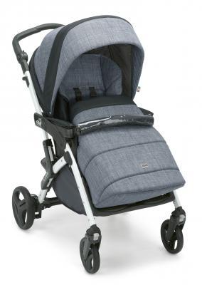 Фото - Прогулочная коляска Cam Fluido Allegria (цвет 625/серый с синим) коляска прогулочная everflo safari grey e 230 luxe