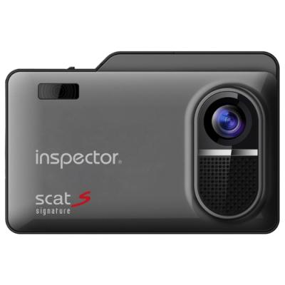 Радар-детектор Inspector Scat S Видеорегистратор GPS приемник G-сенсор черный