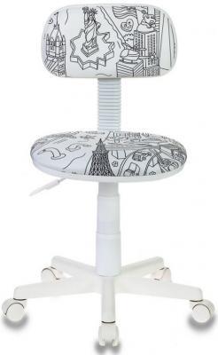 Кресло детское Бюрократ CH-W201NX/PS белый цены онлайн