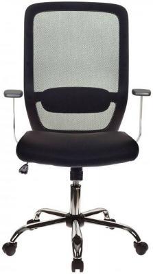 Кресло Бюрократ CH-899SL/B/TW-11 спинка сетка черный TW-01 сиденье черный TW-11 крестовина хром кресло для офиса бюрократ ch 799sl dg tw 12 спинка сетка темно серый сиденье серый tw 12 крестовина хром