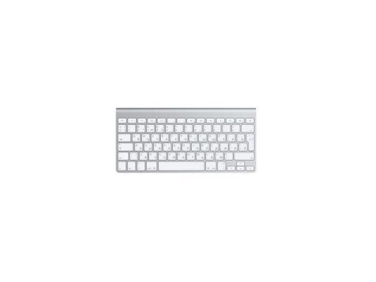Клавиатура Apple MC184RU/B Bluetooth серебристый