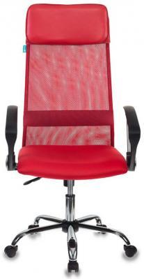 Кресло руководителя Бюрократ KB-6SL/R/TW-97N красный TW-35N TW-97N сетка крестовина хром кресло руководителя бюрократ kb 8 красный