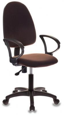 Кресло оператора Бюрократ Престиж+ CH-1300/Brown коричневый цена