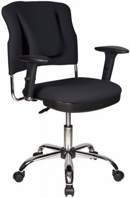 Кресло Бюрократ CH-323AXSN/B спинка динамичная поддержка черный 26-28 крестовина хром кресло бюрократ ch 322sxn grey спинка динамичная поддержка серый 26 25 крестовина хром