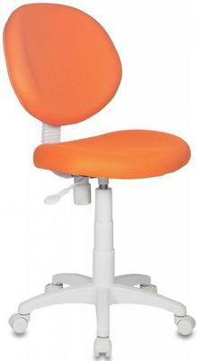 Кресло детское Бюрократ KD-W6/TW-96-1 оранжевый TW-96-1 (пластик белый) кресло оператора бюрократ ch 540axsn tw 96 1