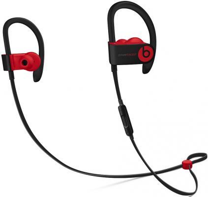 Гарнитура вкладыши Beats Powerbeats 3 Decade Collection черный/красный беспроводные bluetooth (крепление за ухом) гарнитура apple airpods вкладыши белый беспроводные bluetooth