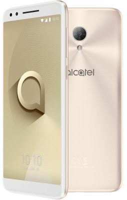 Смартфон Alcatel 3L 5034D 16 Гб золотистый металлик (5034D-2CALRU7) сотовый телефон alcatel 3l 5034d metallic blue
