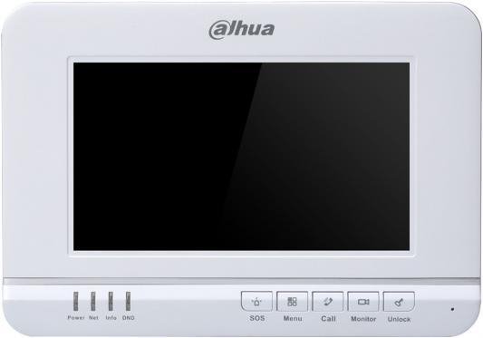 Видеодомофон Dahua DHI-VTH1520A белый видеодомофон dahua dh vth1560b черный