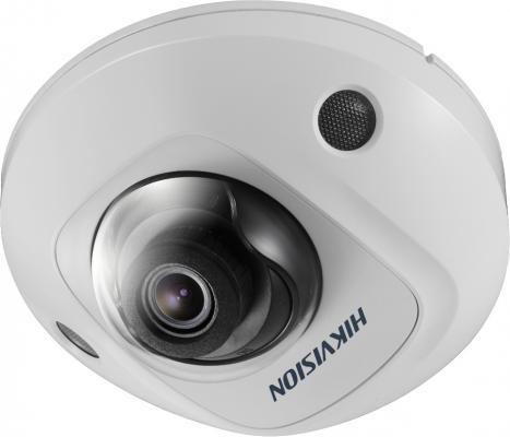 Фото - Видеокамера IP Hikvision DS-2CD2543G0-IWS 2.8-2.8мм цветная корп.:белый видеокамера