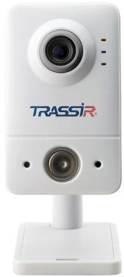 Фото - Видеокамера IP Trassir TR-D7111IR1W 2.8-2.8мм цветная корп.:белый видеокамера