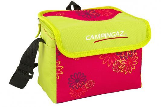 Сумка изотермическая Campingaz Pink Daysy MiniMaxi 4л (объем 4 литра, цвет желтый с красным) сумка изотермическая campingaz pink daysy minimaxi 19 л