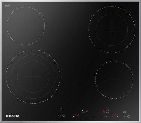 Варочная панель электрическая Hansa BHCI96808 черный цена