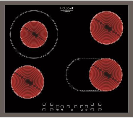 Варочная панель электрическая Ariston HAR 642 DO X черный цена