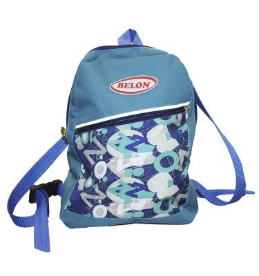 Рюкзак BELON Р-4/2 Синие буквы дутики ммичи ml 9616 e 2 р 32 т синие