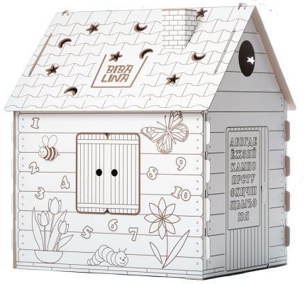 Фото - Игровой домик Bibalina КДР03-001 110/98/75 кукольные домики и мебель cartonhouse игровой домик из картона замок русалки