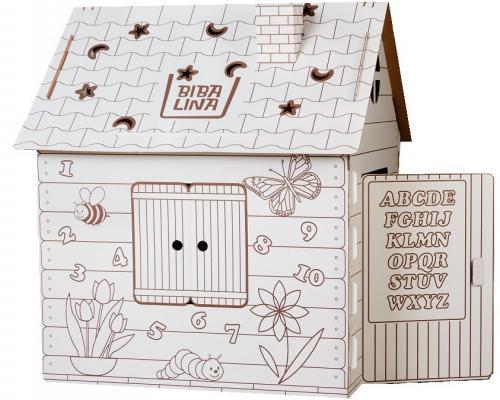 Фото - Игровой домик Bibalina Colouring play-house BBL003-001 кукольные домики и мебель cartonhouse игровой домик из картона замок русалки
