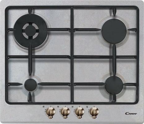 Варочная панель газовая Candy CPGC 64 SWP AVG серый встраиваемая газовая варочная панель candy clgc 64 sp gh