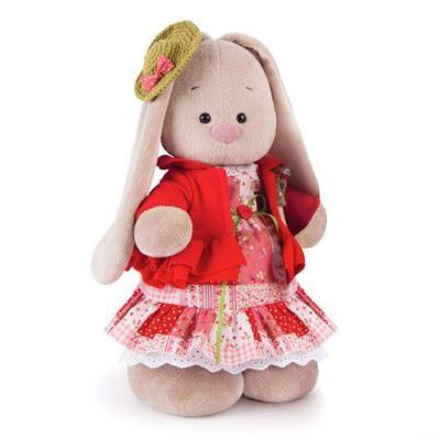 Мягкая игрушка BUDI BASA StM-217 Зайка Ми Маково-красный (большая) budi basa мягкая игрушка budi basa свинка рита