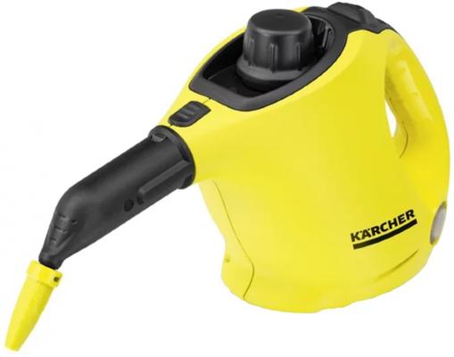 Пароочиститель Karcher SC 1 EasyFix EU-II, ручной, 1200Вт, давление 3 бар, набор насадок пароочиститель philips fc7008 01 1200вт 20г мин