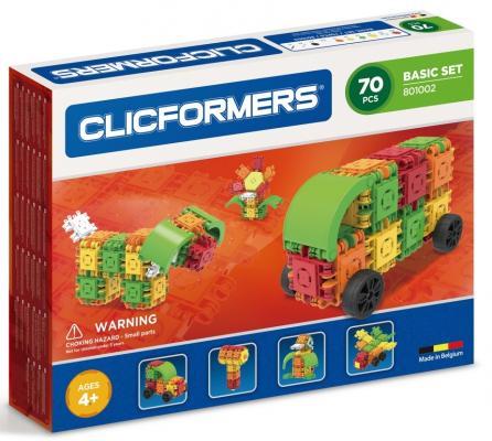 Конструктор Clicformers Basic Set 70 элементов конструкторы clicformers space set mini 30 деталей