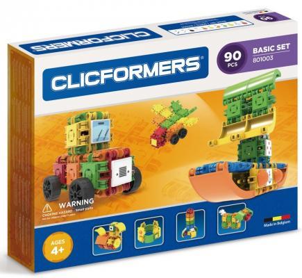 Конструктор Clicformers Basic Set 90 элементов конструкторы clicformers construction set mini 30 деталей