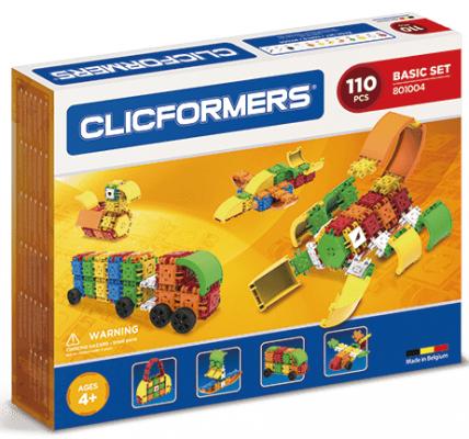 Конструктор Clicformers Basic Set 110 элементов конструкторы clicformers construction set mini 30 деталей