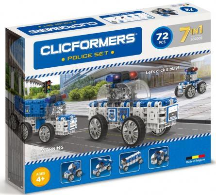 Конструктор Clicformers 802002 72 элемента clicformers конструктор clicformers transportation set mini 30 деталей