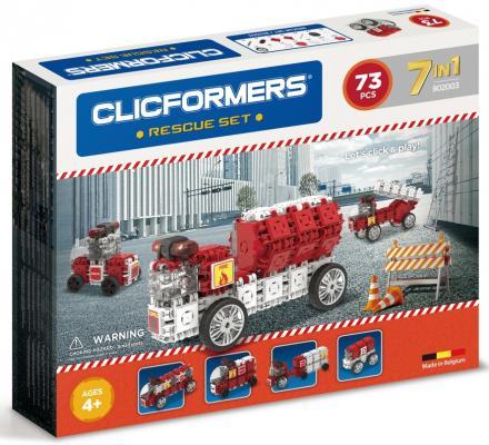 Конструктор Clicformers 802003 73 элемента clicformers конструктор clicformers transportation set mini 30 деталей