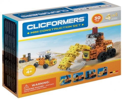 Конструктор Clicformers 804001 30 элементов конструкторы clicformers space set mini 30 деталей
