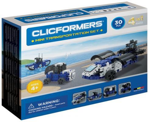 Конструктор Clicformers 804002 30 элементов clicformers конструктор clicformers transportation set mini 30 деталей