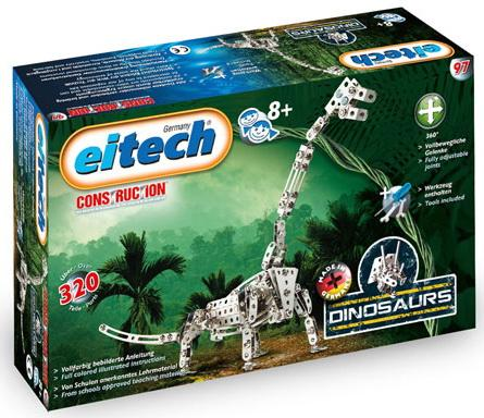 Конструктор Eitech 00097 320 элементов eitech конструктор eitech вертолет 280 деталей