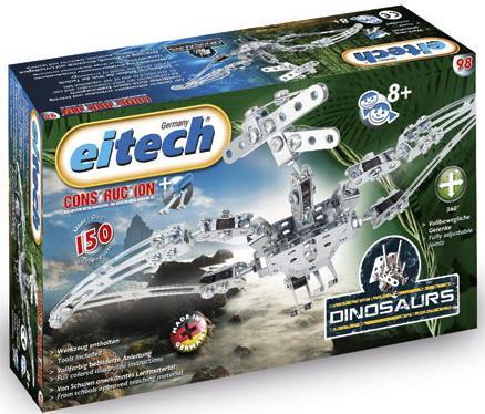 Купить Конструктор Eitech 00098 150 элементов, Пластмассовые конструкторы