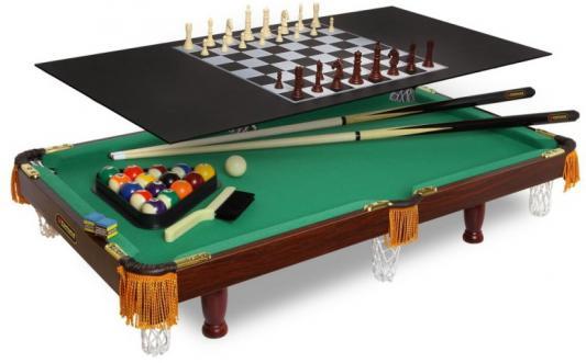 лучшая цена Настольная игра Fortuna набор игр Бильярдный стол Пул 3фт 4 в 1