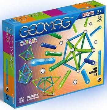 Магнитный конструктор Geomag Color 35 элементов 261 toytoys магнитный конструктор toto 011