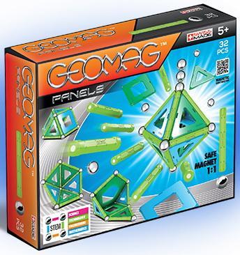 Купить Магнитный конструктор Geomag 460 32 элемента, Магнитные конструкторы для детей