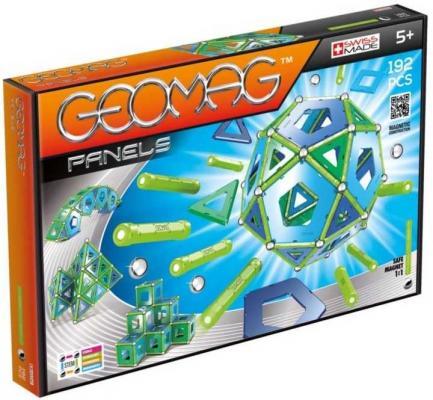 Купить Магнитный конструктор Geomag Panels 192 элемента 464, Магнитные конструкторы для детей