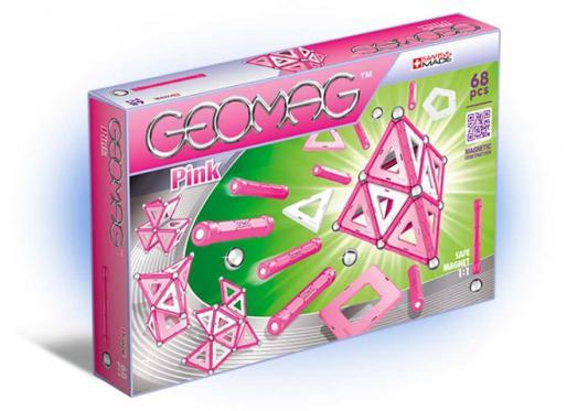 Купить Магнитный конструктор Geomag Pink 68 элементов 342, Магнитные конструкторы для детей